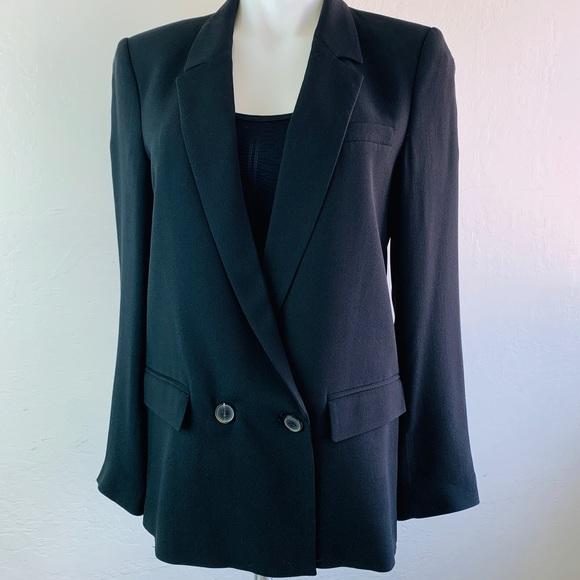 Black Zara Woman Blazer Size Large